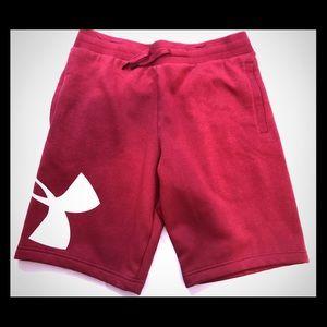 NWT Under Armour Crimson Sweat-Shorts Men's Sz. L